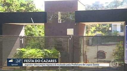 Com Covid-19, Cazares promove festa, é multado e convidados são orientados a quarentena