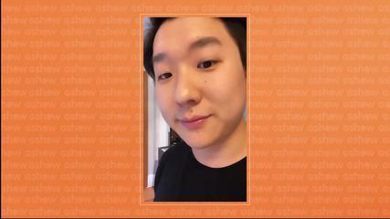 Pyong Lee mostra seu visual novo