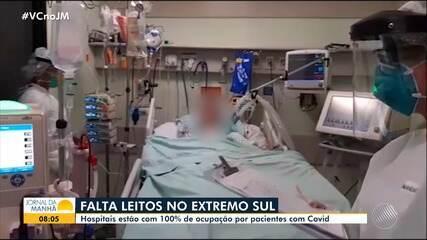 Covid-19: Secretário Fábio Vilas-Boas comenta a falta de leitos no extremo sul