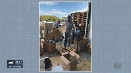 Receita Federal destrói R$ 200 mil em mercadorias apreendidas no Sul de MG