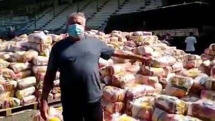 Primeiras doações de Fred começam a chegar ao Fluminense