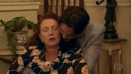Ana fica entre a vida e a morte depois de discutir com Severo