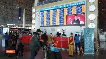 EUA vão suspender os voos de quatro companhias aéreas chinesas