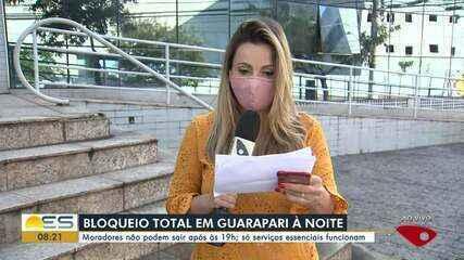 Prefeitura de Guarapari decreta isolamento total a partir das 19h