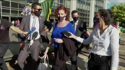 Deputada Carla Zambelli (PSL) vai à PF para depor no inquérito das fake news