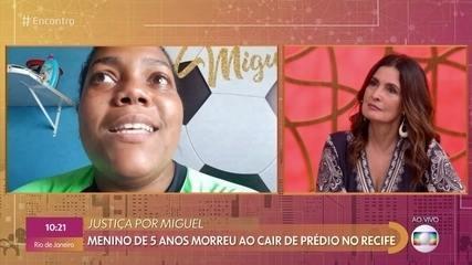 Mirtes lembra de Miguel como um menino feliz