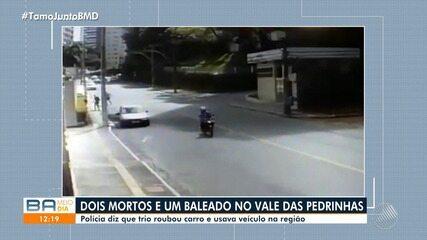 Tiroteio deixa duas pessoas mortas no Vale das Pedrinhas, em Salvador