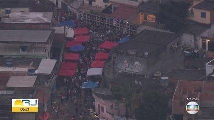 Globocop flagra baile funk em rua do Chapadão
