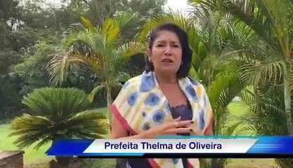 Thelma de Oliveira diz que está com câncer de mama