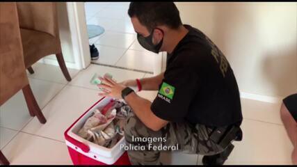 Polícia Federal apreende R$ 750 mil na Operação Bellum