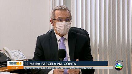 Sergipe recebe R$ 113,5 milhões de repasse do Governo Federal