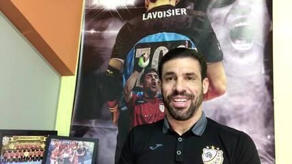 Lavoisier fala sobre a conquista da Liga Nacional de Futsal 2009 pelo Carlos Barbosa