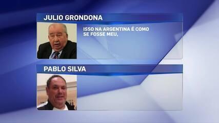 Em áudio, Julio Grondona admite plano de que a Fifa compre projeto do spray do futebol