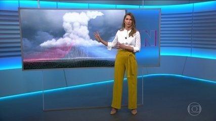 Anne Lottermann explica fenômenos meteorológicos que podem ter atingido SC