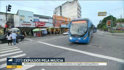 Milícia toma casas e expulsa moradores na Região Metropolitana do Rio