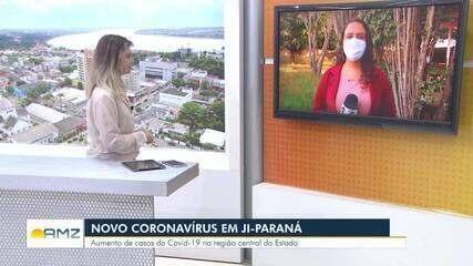 Rondônia passa dos 10 mil casos confirmados da Covid-19