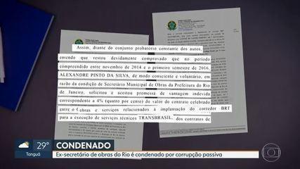 juiz federal Marcelo Bretas, da 7ª Vara Federal Criminal, condenou o ex-secretário