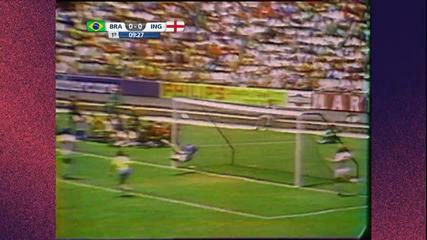 Veja a defesa histórica de Gordon Banks em cabeçada do Pelé