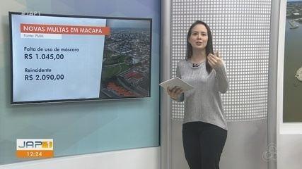Novo decreto de Macapá estabelece multa para quem não usar máscara em locais públicos