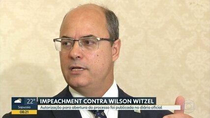 Publicada autorização para abertura do processo de impeachment de Wilson Witzel