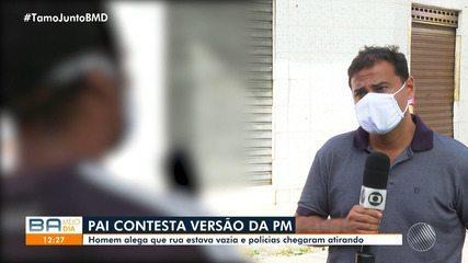 Pai de criança morta em ação policial contesta versão da PM