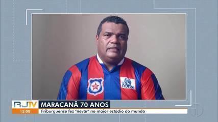 Autor do gol da primeira vitória do Frizão no Maraca comemora 70 anos do estádio