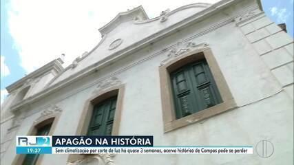Cinco prédios públicos de Campos, RJ, permanecem sem luz por falta de pagamento