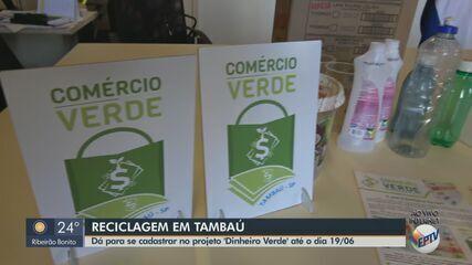 Moradores de Tambaú podem se cadastrar no projeto 'Dinheiro verde' até sexta-feira