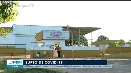 MP pede suspensão temporária de serviços em frigorífico de Araguaína; entenda