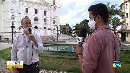 Bispo fala sobre reabertura das igrejas católicas em São Luís