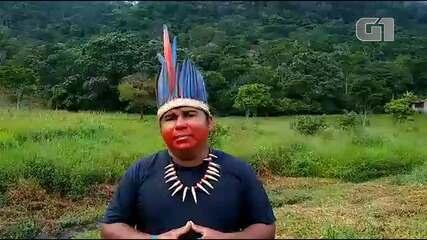 Vice cacique Pataxó comenta como sua comunidade está enfrentando a pandemia de Covid-19