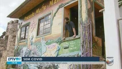 Sul de Minas tem pelo menos 45 cidades sem nenhum caso de Covid-19
