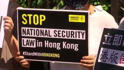 China dá detalhes sobre lei de segurança nacional em Hong Kong