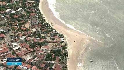 Porto de Galinhas tem movimento tranquilo no primeiro dia da reabertura