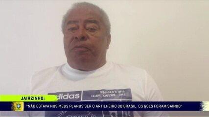 Em comemoração aos 50 anos do tri, Jairzinho relembra o título brasileiro de 1970