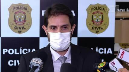 Grupo extremista usava chácara no DF para treinamentos paramilitares, diz delegado Leonardo Castro