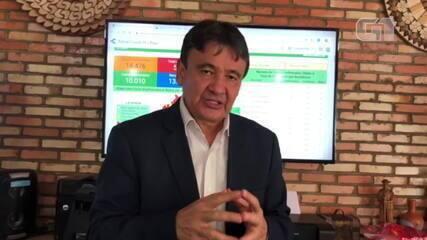 Governador fala sobre adiamento da retomada das atividades