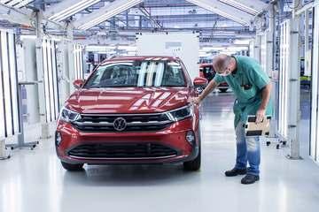 Veja como é a produção do Volkswagen Nivus na fábrica que já fez o Fusca