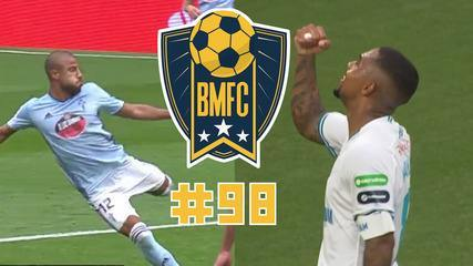 BMFC #98: Puskás na Espanha, gol roubado na Alemanha e pinturas de Rafinha e Malcom