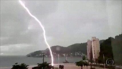 Quarentena provoca redução de poluição e de raios no Brasil