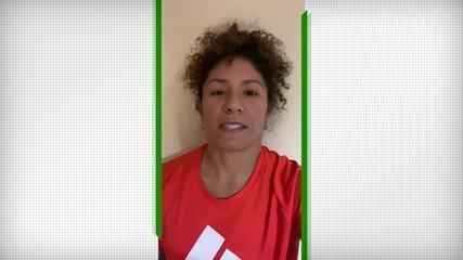 Cristiane, da seleção brasileira de futebol, fala sobre o Dia Olímpico