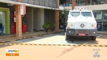 Homem é baleado por seguranças ao tentar assaltar carro forte em Macapá com arma falsa