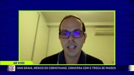 Médico do Corinthians fala sobre testagem positiva de atletas para Covid e retorno das atividades no clube