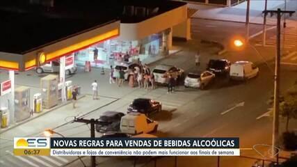 Distribuidoras de bebidas não podem mais funcionar aos finais de semana no ES