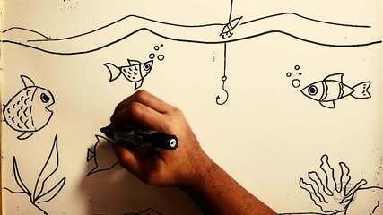 Traços da minha quarentena: Nathan, do Atlético-MG, narra história de pescaria