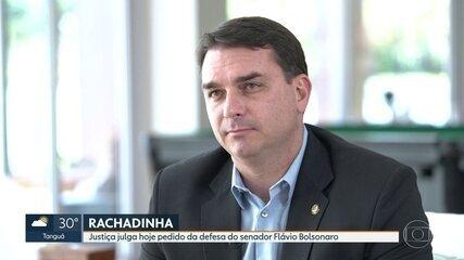 Justiça analisa pedido de defesa do senador Flavio Bolsonaro