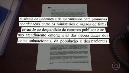 Em junho, TCU já tinha cobrado diretrizes mais claras do governo no combate à pandemia; relembre