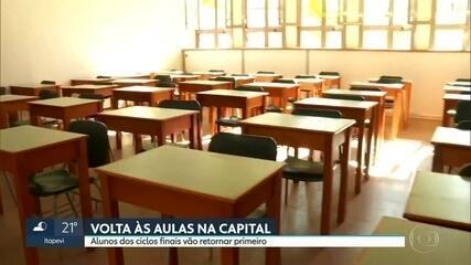 Rede municipal de educação planeja retorno gradual de 1 milhão de alunos da capital