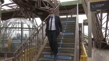 Torre Eiffel reabre após 3 meses fechada por causa da pandemia