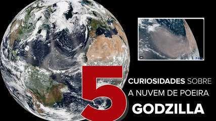 5 curiosidades sobre: nuvem de poeira Godzilla